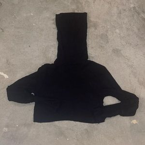 Joah Brown Cropped Long Sleeve